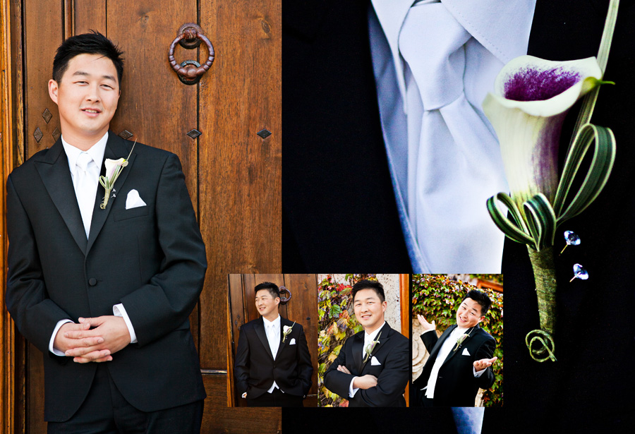 groom solo photo by san martin wedding photographer