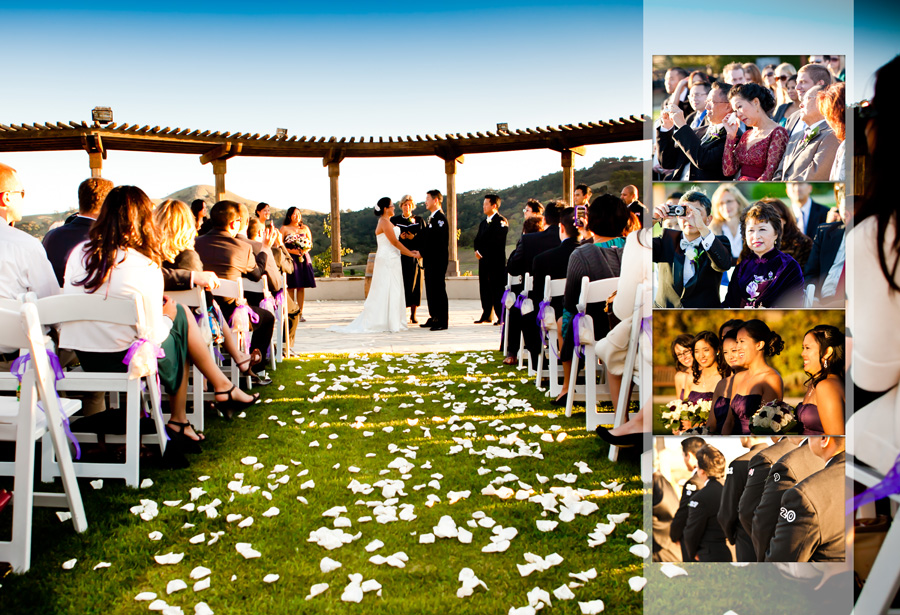 winery wedding photo in san martin california