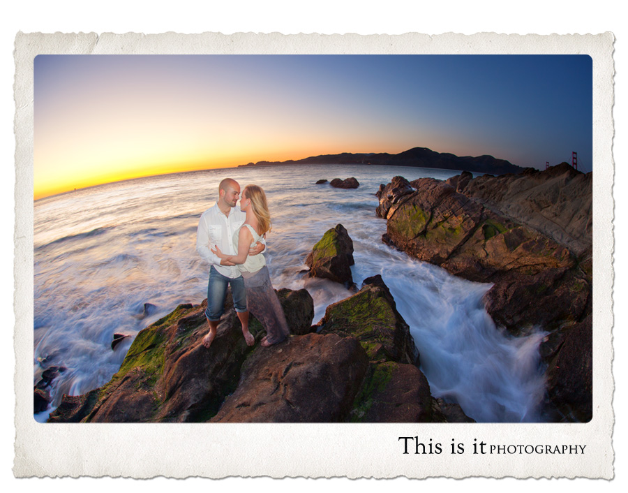 best photo in baker beach by top wedding photographer