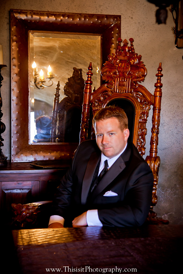 groom solo photo by affordable wedding photographer