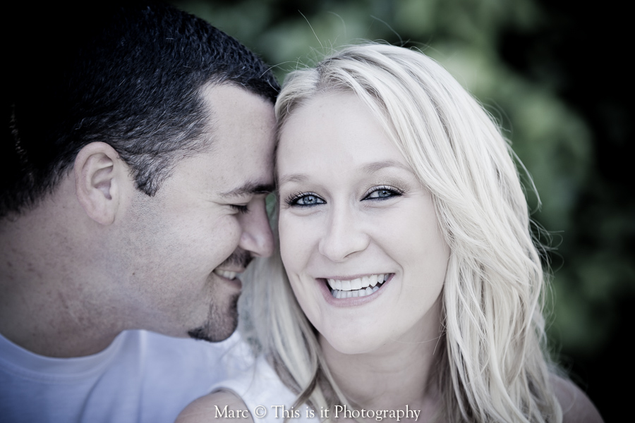 couple enjoying the engagement session by top wedding photographer in Capitola